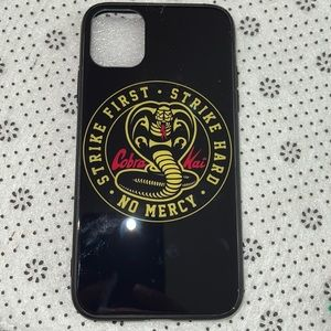 New iPhone 11 Cobra Kai phone cover